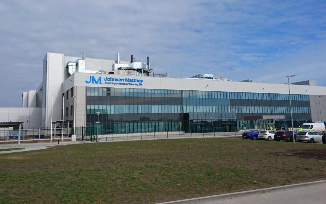 Johnson Matthey Auto-Catalyst Plant
